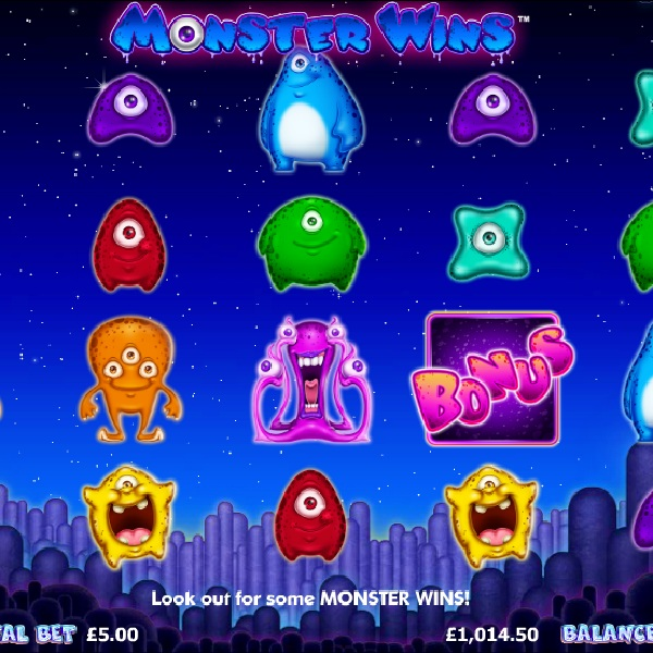 Monster Wins Slot Takes You to Meet the Alien Boss