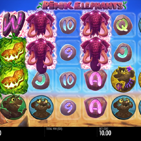 Pink Elephant Slots Features Six Reels and Loads of Free Spins