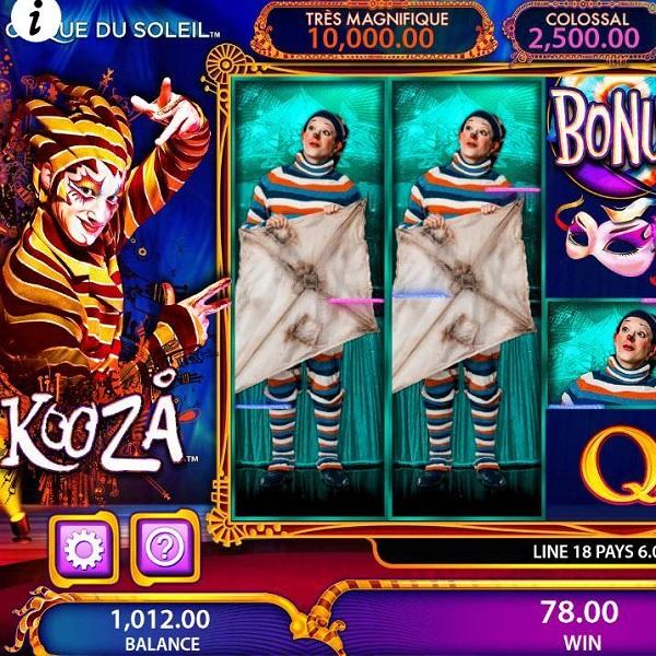 Cirque Du Soleil: Kooza Slot Offers Tricks and Jackpots