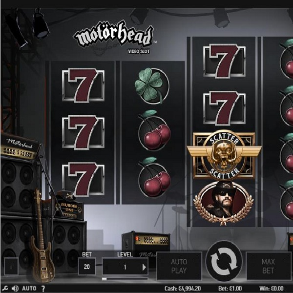 Motorhead Slot Will Have You Rocking in Your Seat