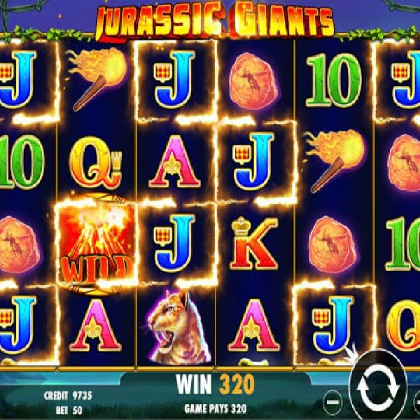 Jurassic Giants Slot Offers Up to 250 Free Spins