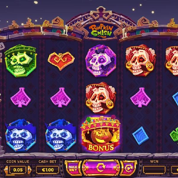 Pumpkin Smash Slots Offers Ghoulish Winnings