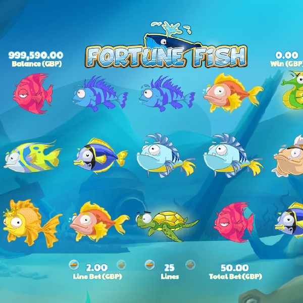 Fortune Fish Slot Offers Free Underwater Spins