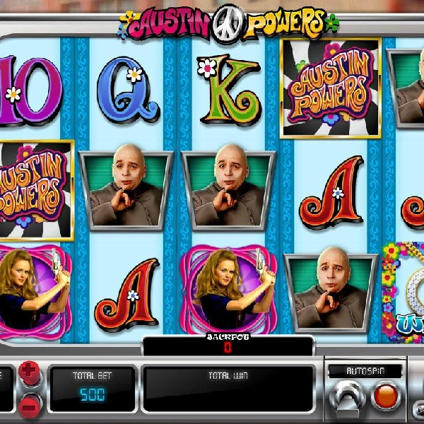 Austin Powers Slot Features Six Film Based Bonuses