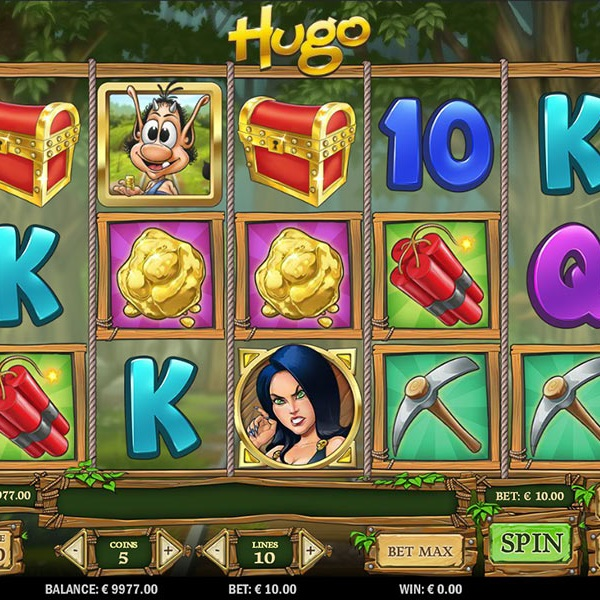 Hugo Slot Takes You Down the Mines in Search of Gold