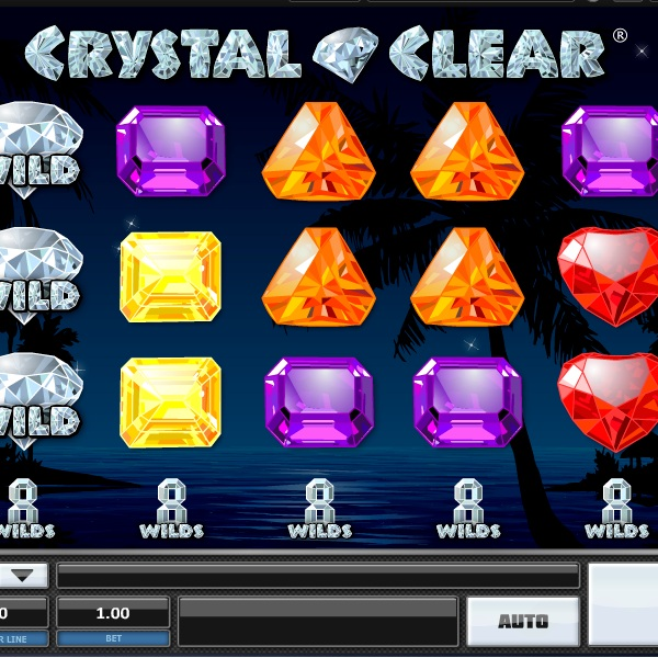 Crystal Clear Slot Features Stacked Wilds on Every Reel