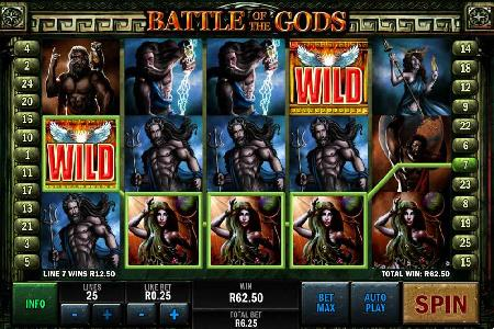 Playtech Launches Battle of the Gods Slot