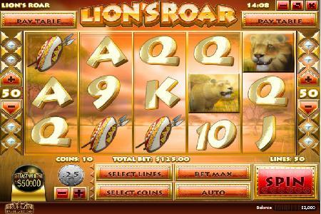 King Sized Wins from Lion's Roar Slot