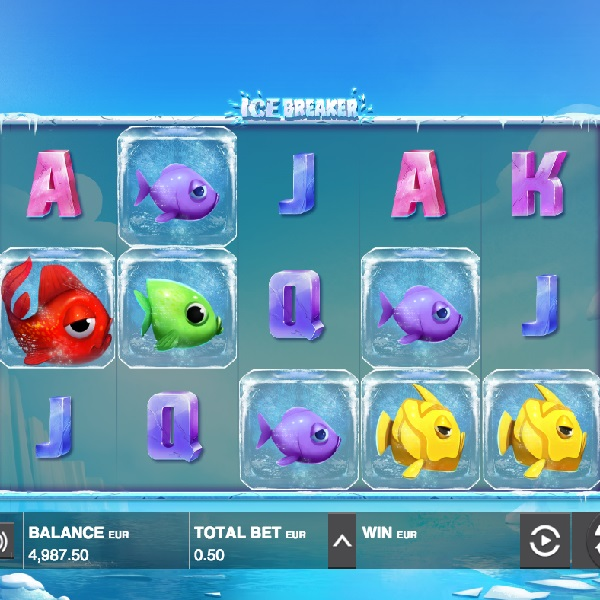 Ice Breaker Slot Features Collapsing Symbols and Free Spins
