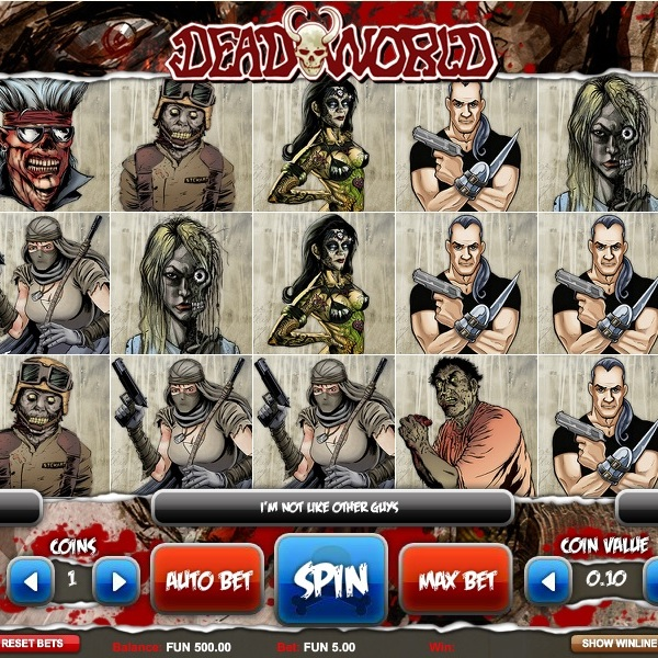 Deadworld Slot Brings the Zombie Apocalypse to the Reels