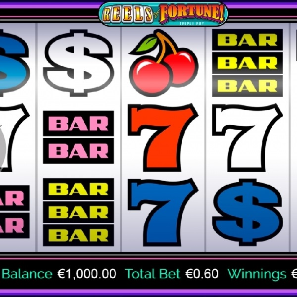 Reels of Fortune Triple Pay Slot Brings Simple and Enjoyable Gaming