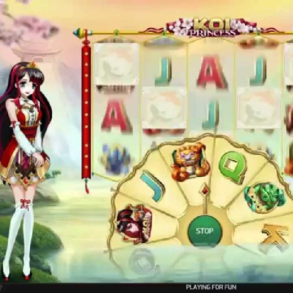 Koi Princess Slot Brings Multiple Bonus Features