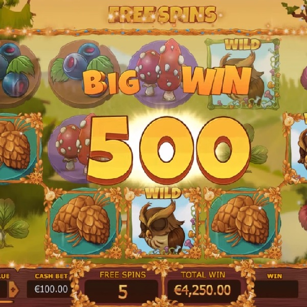 Seasons Slot Features a Wild for Each Season