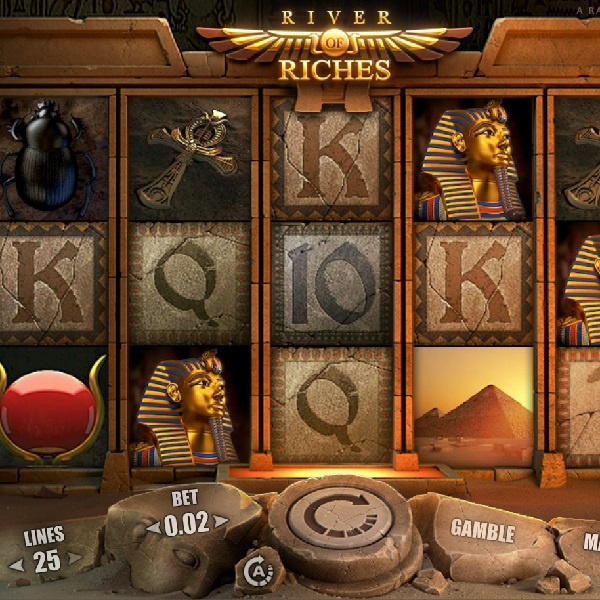 River of Riches Slot Review – Bonus Sticky Wilds