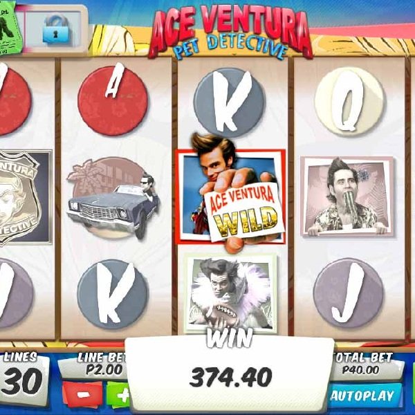 Ace Venture Pet Detective Slot Offers Animal bonuses