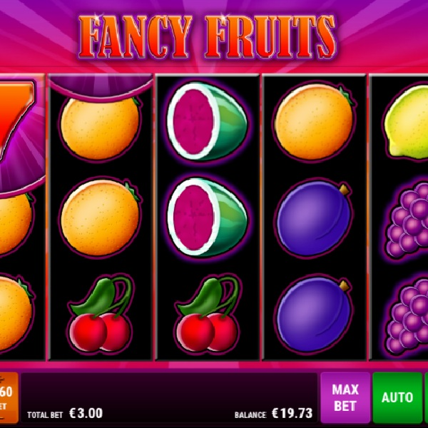Fancy Fruits Slot Offers a Traditional Slot Experience