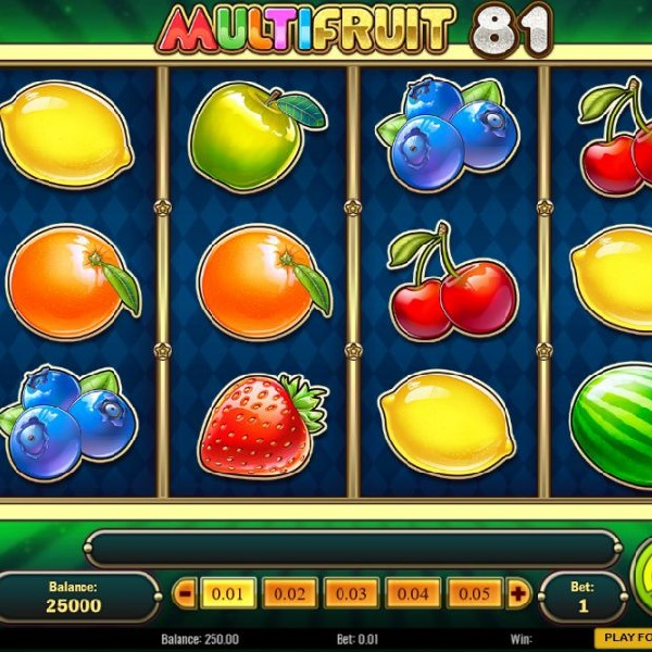 Multifruit 81 Slot Offers Multipliers and Expanding Wilds