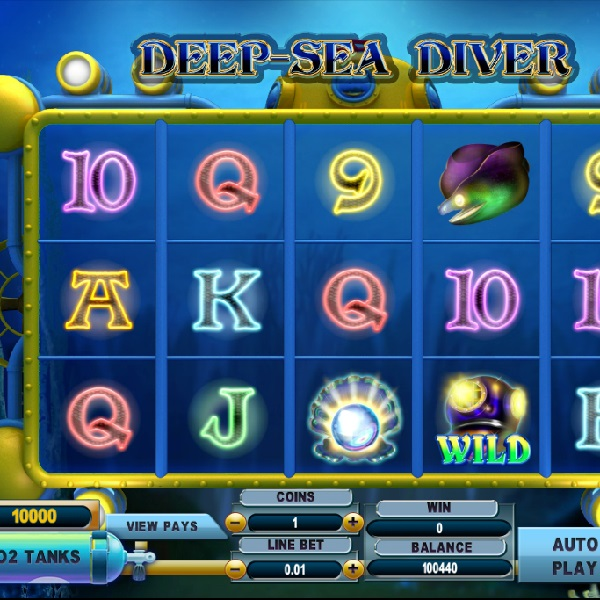 Deep Sea Diver Slot Brings Players Watery Riches