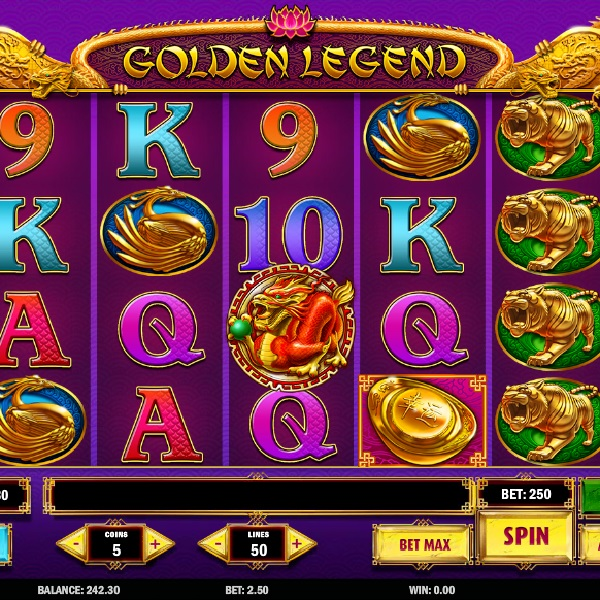 Golden Legend Slot Brings Players Gleaming Wins