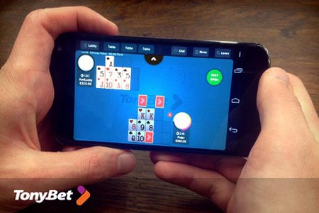 New Tournaments and Mobile App for TonyBet Poker