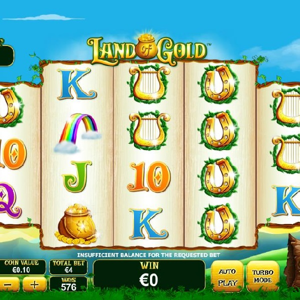 Land of Gold Slot Offers a Huge Progressive Jackpot