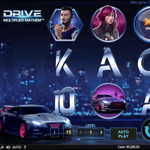 Drive: Multiplier Mayhem Slot Offers Multiplying Wilds