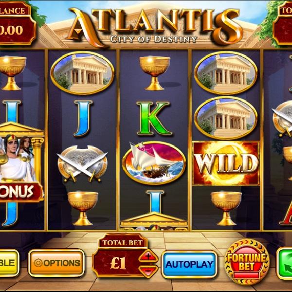 Atlantis City of Destiny Slot Offers Loads of Bonuses