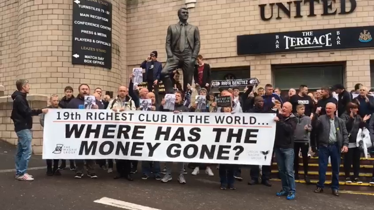 Newcastle Protesters
