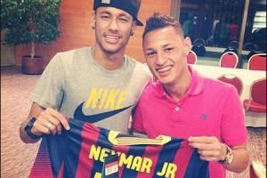Neymar and Neilton