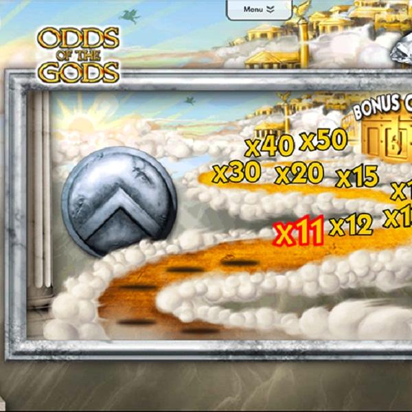 Odds of the Gods Progressive Slots Jackpot at Sky Vegas Worth £183K