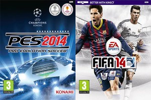 PES 2014 Fails to Match FIFA 14