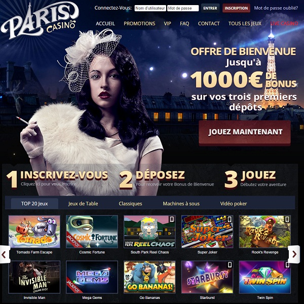Paris Casino Goes Live for French Gamblers