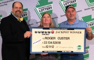 For days Roger Custer from Levittown didn't realise that he is the lucky winner of a $50 million Powerball jackpot.
