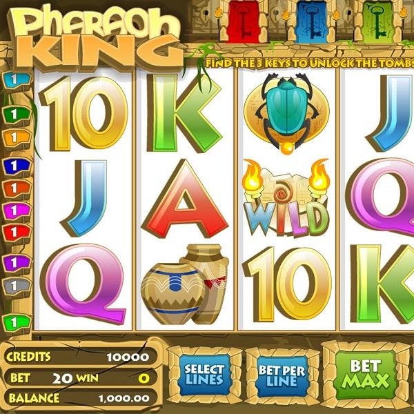 Pharaoh King Video Slots at Jetbull Casino Exceeds €9.8K