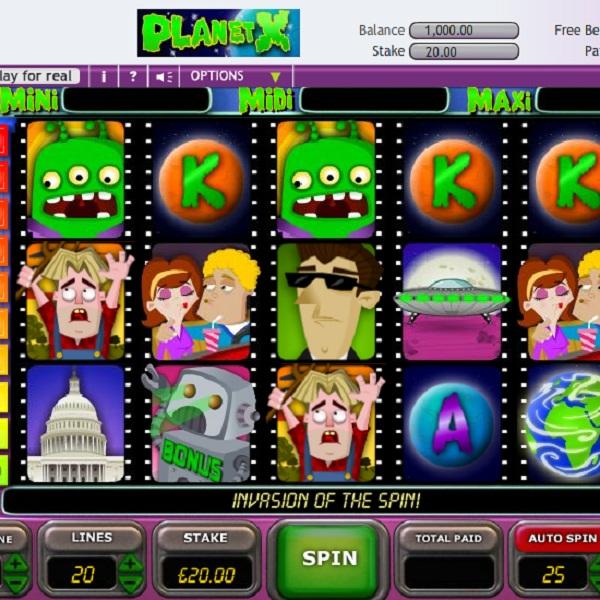 Betfair Casino's Planet X Video Slot Approaches £15K