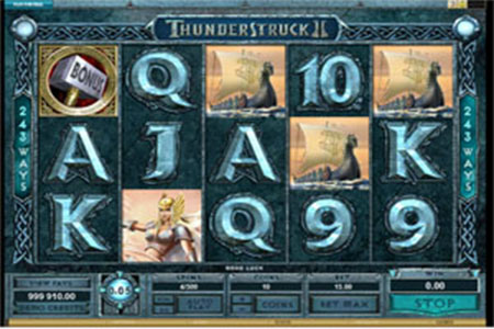 Play Thunderstuck II Free at Royal Vegas Online Casino