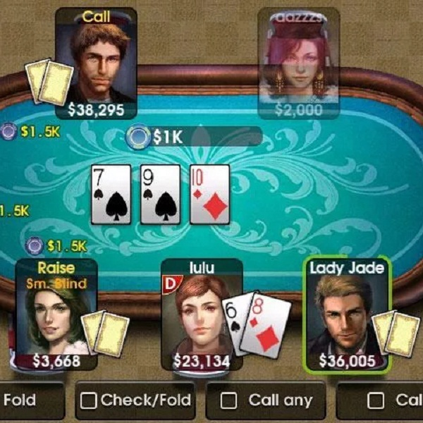 DroidHen's DH Texas Poker Lets You Challenge Friends on the Go
