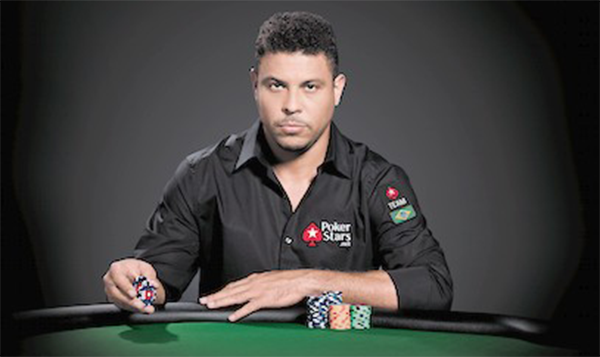 PokerStars Signs Ronaldo to Team SportsStars