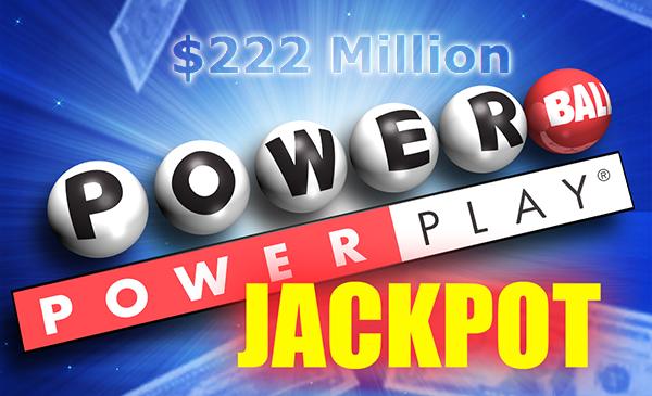 Powerball Jackpot Grows to $222 Million