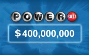 Powerball Jackpot Reaches $400 Million