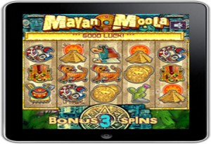 Probability Launch Mayan Moola HD Mobile Slots
