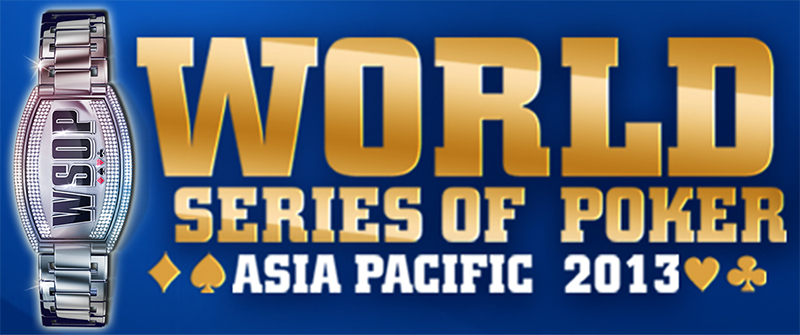 Qualify for the World Series of Poker Asia Pacific