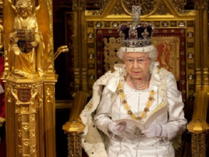 Queen Mentions Gambling Bill in Speech Briefing Notes
