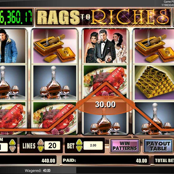 $132K Rags to Riches Progressive Jackpot Available at Redbet Casino