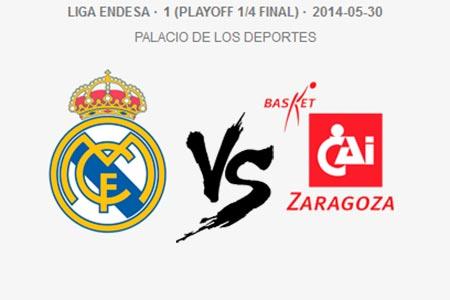 Real Madrid vs Basket Zaragoza
