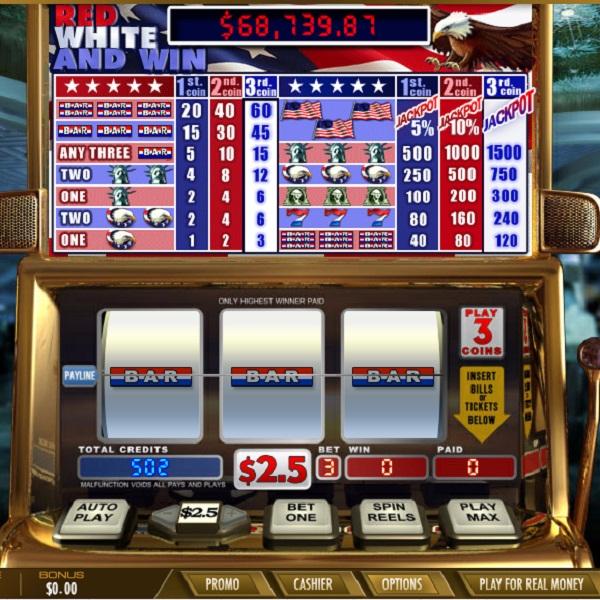 Intertops Classic Casino Red White & Win Slot Jackpot Exceeds $70K