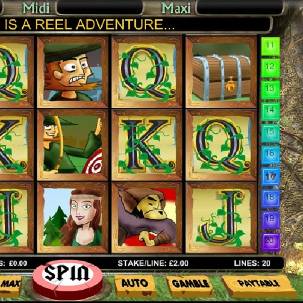 Robin Hood Progressive Slots Jackpot at Betfair Casino Worth £101K
