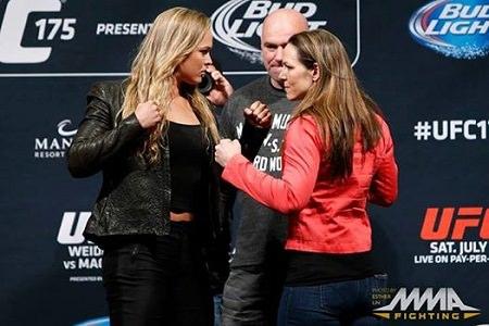 Ronda Rousey Takes On Alexis Davis at UFC 175