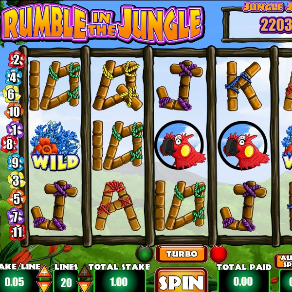 Rumble in the Jungle Progressive Jackpot at Sky Vegas Casino Exceeds £113K