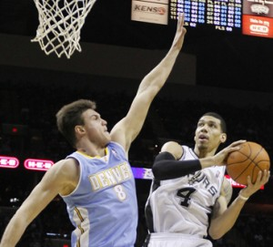 Tonight the San Antonio Spurs travel to the Mile High City to face the Denver Nuggets in a match which the bookies think is too close to call.